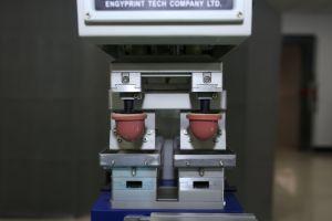자동적인 Contactlenses 패드 인쇄 기계 2 색깔