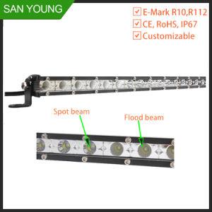 12 pollici 36W scelgono il mini LED camion automatico movente fuori strada dell'automobile del Ute del camion ATV SUV della barra chiara di riga