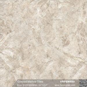中国フォーシャンの建築材料の大理石の磨かれたフロアーリングの浴室のタイル(VRP8W899、800X800mm)