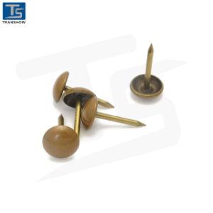Spijkers van Nails_Sofa van het Meubilair van het Staal van de Levering van China de Gouden Geplateerde