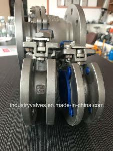 Valvola a sfera della flangia della cialda di Pn16 1PC con il rilievo di montaggio ISO5211