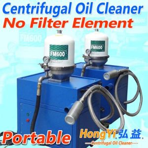 Recovery Used OilのためのHongyi FM600 Centrifugal Oil Cleaner