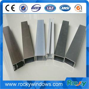 Perfil de extrusión de aluminio para ventanas/puertas/Fabricación de la baranda de la valla/