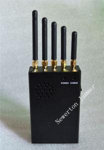 5つのバンド手持ち型の携帯電話のシグナルのアイソレーターGPS WiFiの妨害機
