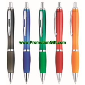 Pen van het Embleem van de Balpen van de Ballpoint van Highlighter van het Scherm van de Aanraking van de douane de Promotie Plastic