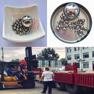 Las bolas de acero cromado de cojinete de bolas de acero de 6,35 mm para Auto teniendo