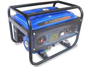 2.5kw Highquality Gasoline Generator met a. C Single Phase en Cover