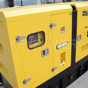 Sistema de enfriado por agua a 88kw tipo silencioso Generador Diesel con motor Cummins