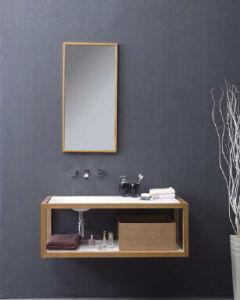 Europäische Art-feste Oberflächenbadezimmer-Möbel