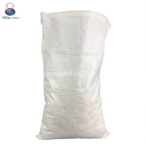 Haltbarer Weiß-pp. gesponnener Beutel für Mehl 50kg