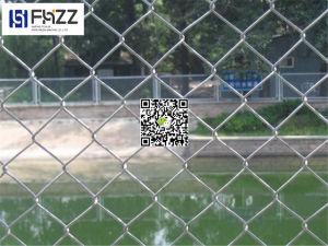 Omheining van de Link van de Keten van de Veiligheid van het Netwerk van de Draad van het Staal van de tuin de Tijdelijke