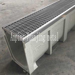 Полимерный конкретные траншея сливную крышку решетки из нержавеющей стали