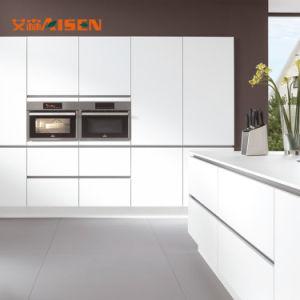 2018 hohe moderne Küche-Schränke des Glanz-Lack-2 PAC