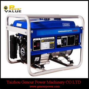 Утвержденном CE 3Квт небольшие портативные бензиновые электрический генератор