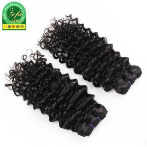 Uvas 100% virgem cutícula encaracolado peruano alinhada de cabelo humano tecem