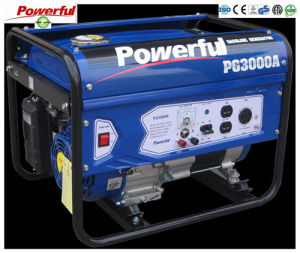 容易にHome Use 3000W 7.0HP単一PhaseのGasoline GeneratorかSingle Cylinders 100%Cooper Gasoline GeneratorのためのMoveに