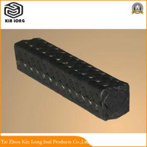 Le PTFE pur noir de haute qualité pour joint de pompe d'emballage de la glande; Orient PTFE pur de bonne qualité de l'emballage
