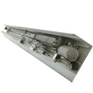 precio de fábrica High-Tech de aleación de aluminio puerta corrediza automática para la construcción de la entrada