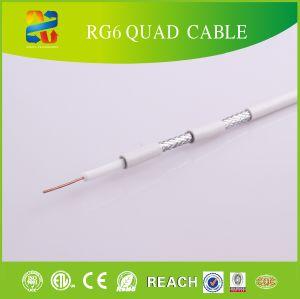 Cavo del quadrato del Quadrato-Carter RG6 RG6 del cavo coassiale di serie di Rg