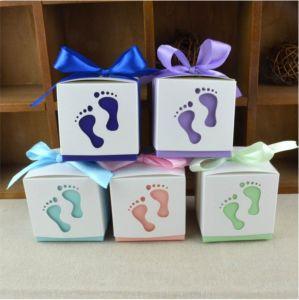A favor de la cinta Caja de regalo cajas de caramelos de dulce de Bodas parte