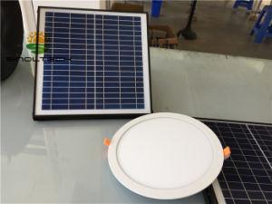 Indicatore luminoso di soffitto solare di w led per