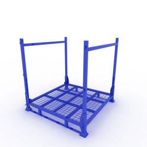 Revêtement en poudre bon marché d'empilage Nestainer métal Rack pour le stockage industriel