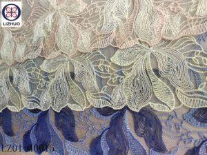 Comercio al por mayor elegante diseño de lencería de encaje bordado
