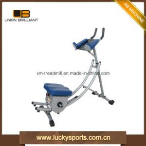 Abdominal de inicio de la máquina Crunch Trainer Gimnasio Ab Coaster Flex