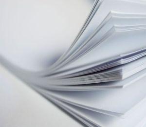 80gsm, papel Offset finos para notebooks