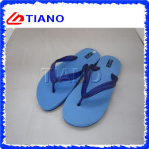 Bascules en caoutchouc de PVC de poussoirs d'EVA de poussoir de mode bon marché d'été (TNK20278)