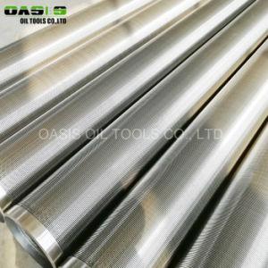 Mranufacture acier inoxydable 316L d'eau et tuyau de filtre à fil