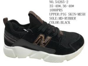 Nouvelle conception de couple supérieure en cuir confortables chaussures de sport