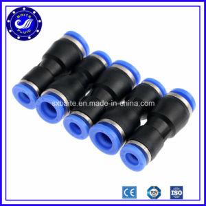 Conector del tubo de plástico caliente neumática Racores de aire