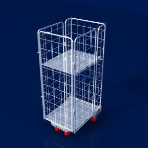 Speicherrollenbehälter-Metalllaufkatze-Karren-Lager-Gerät