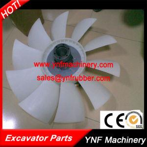 Pala di ventilatore del motore dei pezzi di ricambio dell'escavatore per Caterpillare KOMATSU Hitachi Kebelco ed il Assy di sostegno dell'azionamento del ventilatore