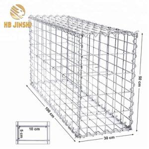 Revêtement de zinc lourd de treillis soudé Boîte de gabions pour la construction de la rivière