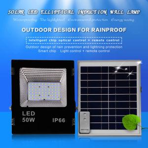 La carretera de la Calle Jardín LED 50W de luz de la energía solar