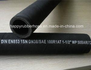 Norma DIN EN 853 856 a mangueira de borracha de Alta Pressão Flexível
