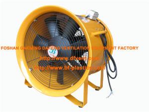 Оранжевый 16-дюймовый портативный осевых вентиляторов 380V