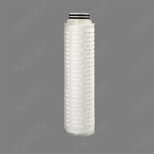 PTFE с высокой газопроницаемостью Micro гофрированной мембраны картридж для фильтрации