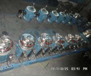 Pompe centrifuge verticale sanitaires pour les aliments, boissons, le traitement du vin