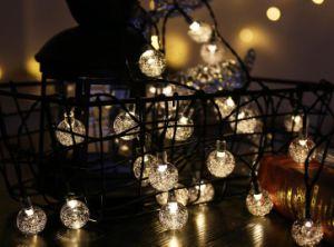 Lichten van Kerstmis van de Tuin van de LEIDENE Verkoop van 2018 de Hete Zonne Openlucht