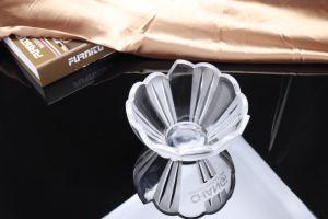 Tigela de arroz de vidro de cristal de moda de recreio de louça de mesa