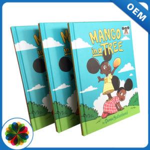 China barato capa dura de cores de livro para crianças