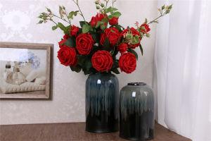 花嫁の花束のためのローズの絹の人工的な花