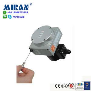 El nivel de trabajo de alta precisión de medición de longitud de cable sensor