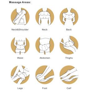 Pescoço massagem Shiatsu portátil de fábrica equipamento de volta massajador com o calor