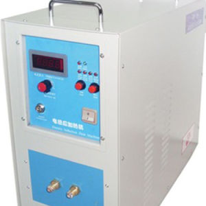 Alta freqüência de máquina de fundição pequeno forno de fusão por indução eléctrica