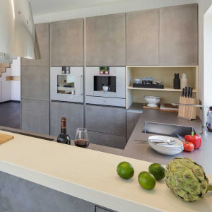 Оптовая торговля U-образный фанера сегменте панельного домостроения кухонным шкафом