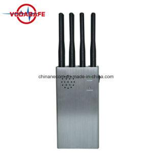 Teléfono móvil de alta potencia de señal de teléfono móvil de bloqueo, mordaza, Computadora de mano, la batería integrada, teléfonos móviles 2G 3G LTE 4G CDMA GSM teléfono móvil Bluetooth WiFi jammer